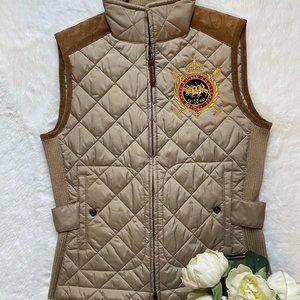 Ralph Lauren Sport Puffer Quilted Crested Vest